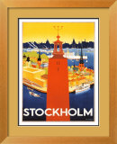 Stockholm Prints by  Donner