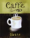 Caffe Latte Kunstdrucke von Anthony Morrow