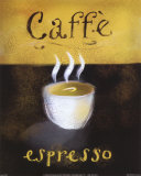Caffe Espresso Art by Anthony Morrow