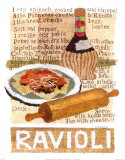 Ravioli Poster by Nancy Overton