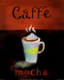 Caffe Mocha Posters by Anthony Morrow