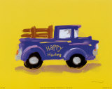 Happy Hauling Print by Anthony Morrow