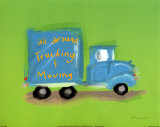 All Around Trucking Poster by Anthony Morrow