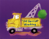 Full Service Wrecking Prints by Anthony Morrow