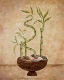 Bamboo, Luck Prints by Valerie Wenk