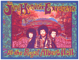 Jimi Hendrix-Konzertplakat, Royal Albert Hall (Lithographie) Kunstdruck von Karl Ferris