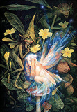 Brian Froud - Primrose Faery Poster by Brian Froud