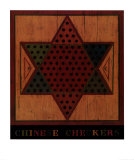 Chinese Checkers Posters par Warren Kimble