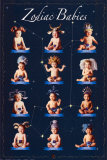 Zodiac Babies Poster by Tom Arma