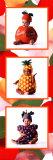 Bebés disfrazados de frutas Lámina por Tom Arma