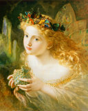Fairy Kunstdrucke von Sophie Gengembre Anderson