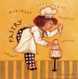 Pastry Chef Posters af Stephanie Marrott