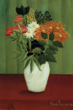 Green Flowers Posters by Henri Rousseau