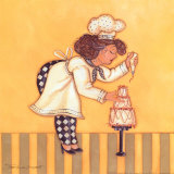 Pastry Chef Prints by Stephanie Marrott