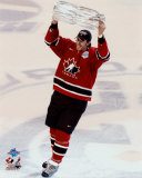 Joe Thornton with 2004 World Cup Trophy ©Photofile Photo