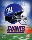 N.Y. Giants Helmet Logo Photo