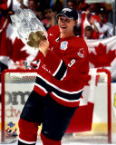 Shane Doan with 2004 World Cup Trophy &#169;Photofile Photo