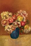 Chrysanthemen Poster von Pierre-Auguste Renoir