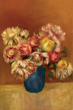 Chrysanthemums Art by Pierre-Auguste Renoir