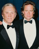 Michael Douglas & Kirk Douglas Photo