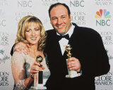 James Gandolfini & Edie Falco Photo