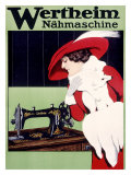 Wertheim Sewing Machine Giclee Print