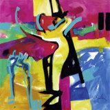 Technicolor Love II Affiche par Alfred Gockel