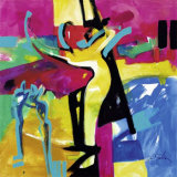 Technicolor Love II Plakat af Alfred Gockel
