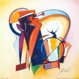 Trompetensolo Poster von Alfred Gockel
