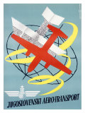Jugoslovenski Airtransport Airline Giclee Print