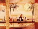 Ørkendrømme III Posters af Alfred Gockel