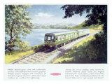 British Railways Pulman Wagon Giclee Print
