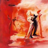 Romance in Red I Planscher av Gockel, Alfred