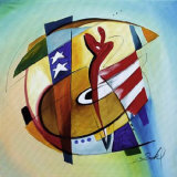 Stars & Stripes III Posters par Alfred Gockel