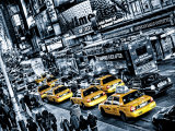 Cabs Queue Prints by Michael Feldmann
