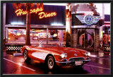 Corvette, 1958 - Diner Posters