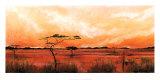 Bhundu Landscape IV Prints by Emilie Gerard
