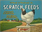 Scratch Feeds Plakietka emaliowana