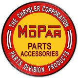 Mopar-Zubehörteile von Chrysler Blechschild