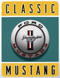 Ford Classic Mustang Tin Sign