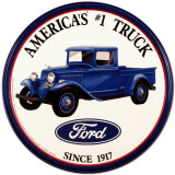 Ford Trucks Tin Sign