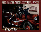 Three Stooges Fire Department Peltikyltit