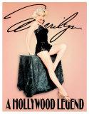 Marilyn Monroe, Hollywood-Legende Blechschild