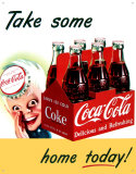 Coke Sprite Boy Tin Sign