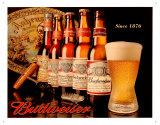 Budweiser Since 1876 Plaque en métal