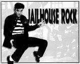 Elvis Jailhouse Rock Blikskilt
