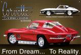 Chevy Corvette Stingray - Metal Tabela