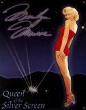Marilyn Monroe Queen of the Screen Tin Sign