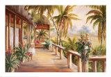 Retraite tropicale II Posters par Alexa Kelemen