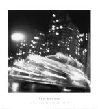 Taxi, New York Night 1947 (small) Lámina por Ted Croner